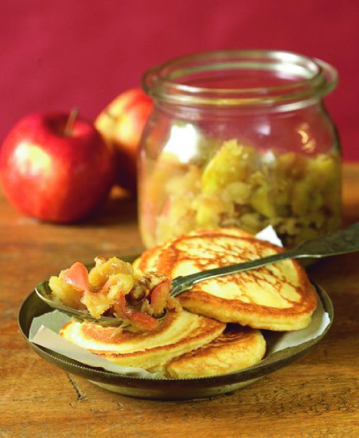 Jablečná marmeláda s ořechy
