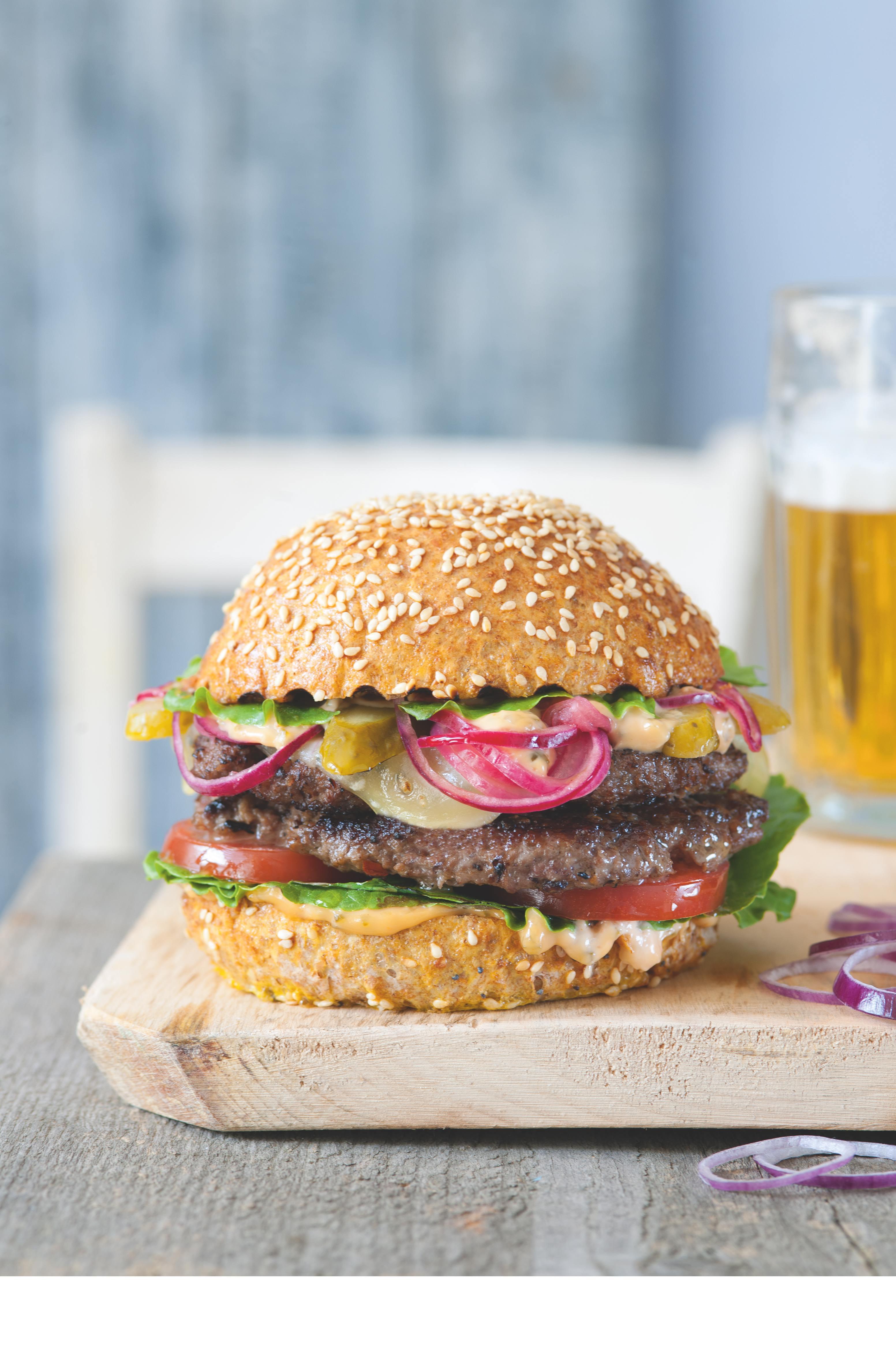 Dvojitý burger