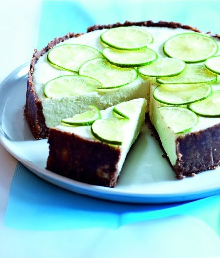 Limetový cheesecake