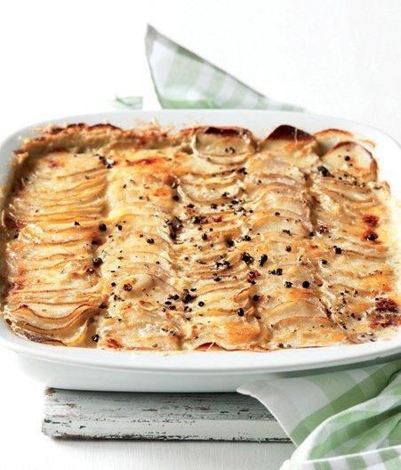 Vydatně, nebo lehce: gratinované brambory