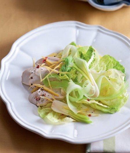 Salátové listování