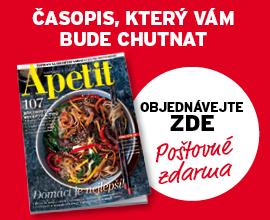 Předplatné časopisu Apetit Online