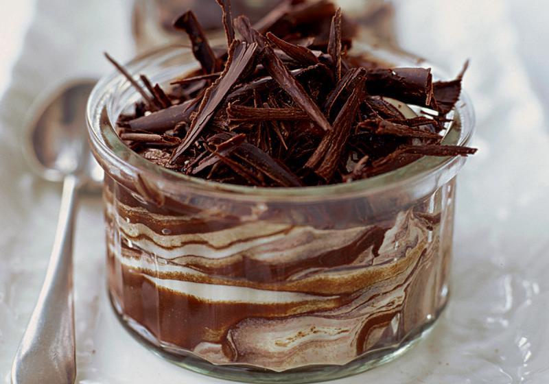 Čokoládový krém s mascarpone