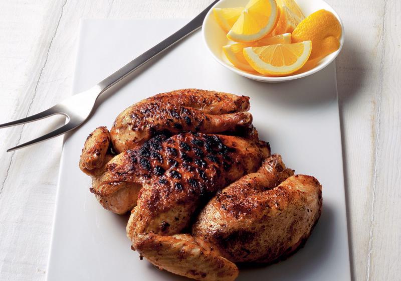 Placaté grilované kuře