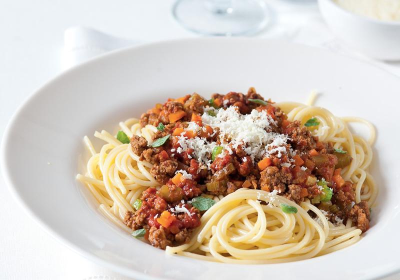 Janina boloňská omáčka se špagetami