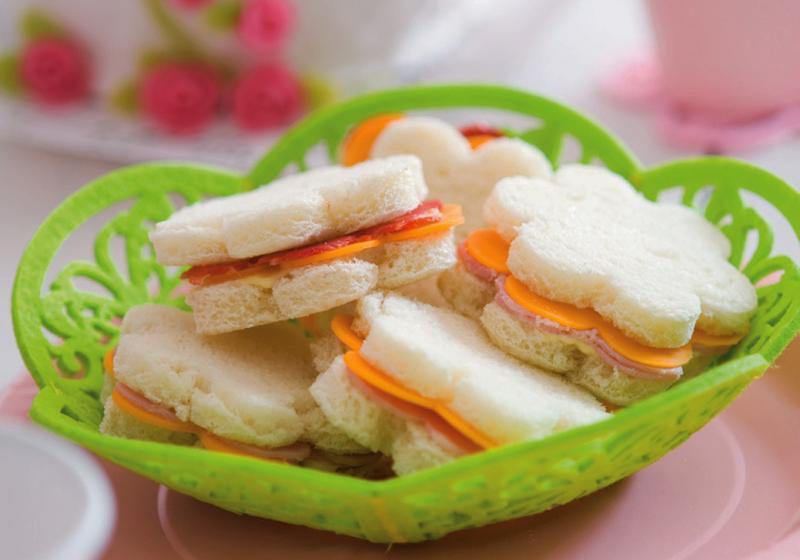 Kytičkové sendviče