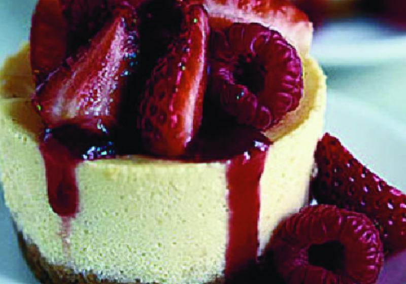 Trojitý cheesecake