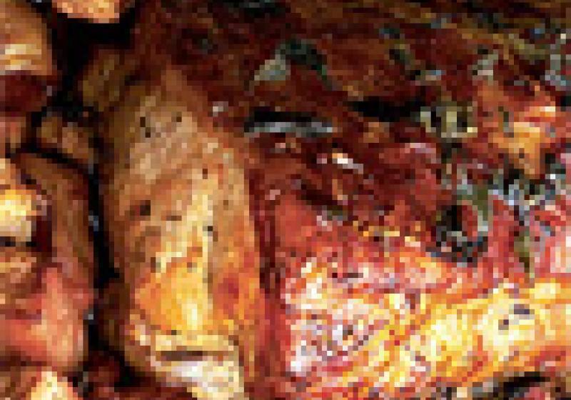 Steak na cibulce