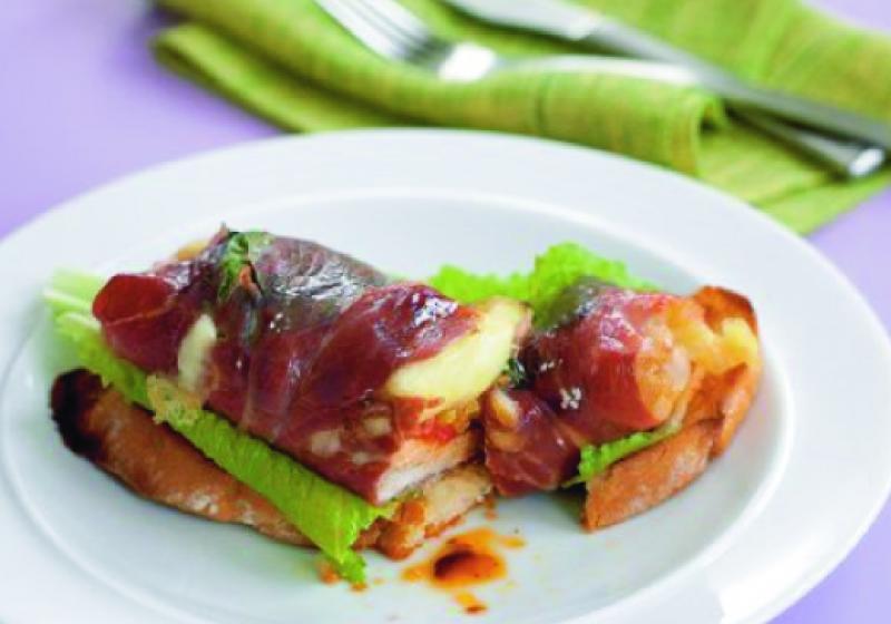 Italské sendviče s krůtou