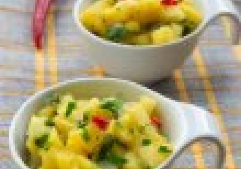 Houbovo-bramborový salát