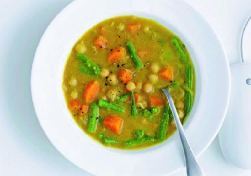 Indická cizrnová polévka