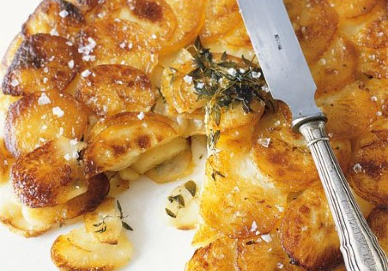 Křupavý bramborový koláč