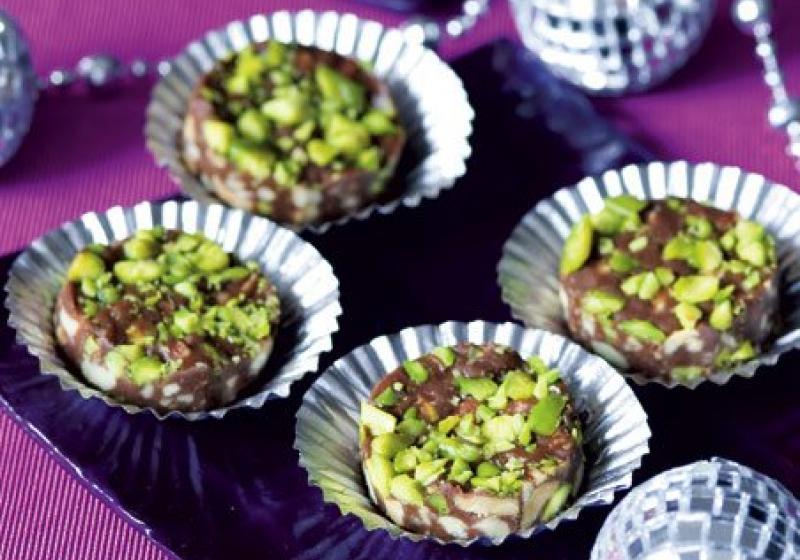 Čokoládovo-ořechová kolečka