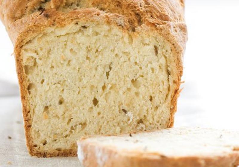 Kmínový chléb s pivem