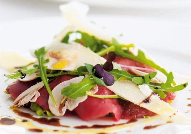Carpaccio & tartar z hovězího masa
