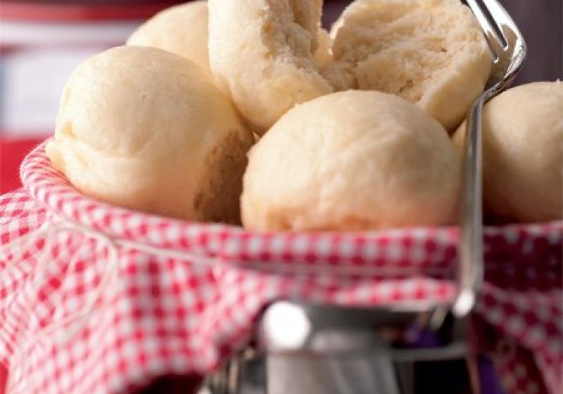 Kynuté knedlíky vařené v páře
