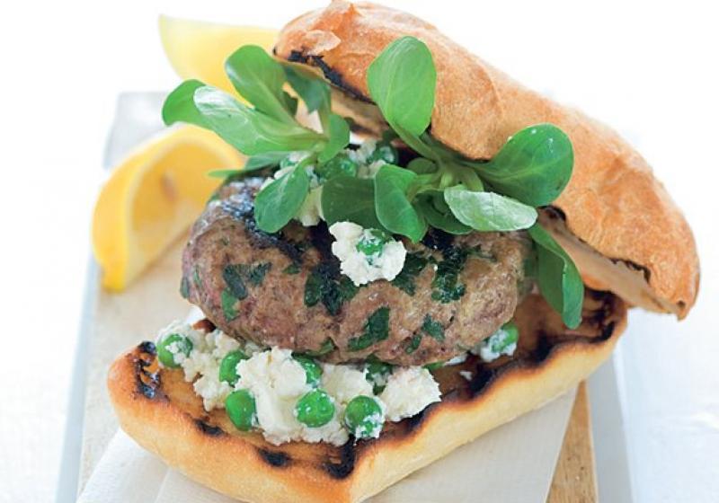 Jehněčí burger