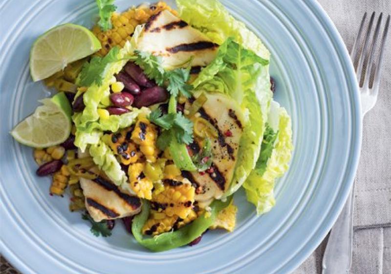 Mexický kukuřičný salát