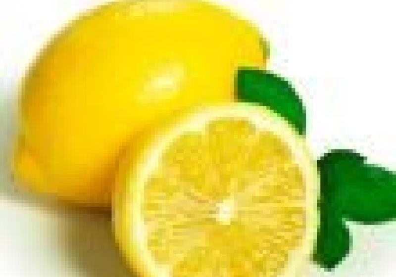Citronovo-malinové košíčky
