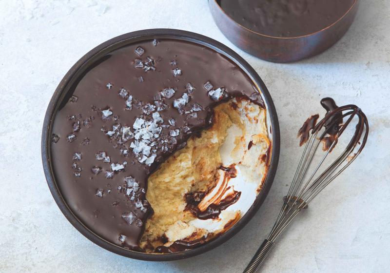 Banánový (ne)koláč s čokoládou