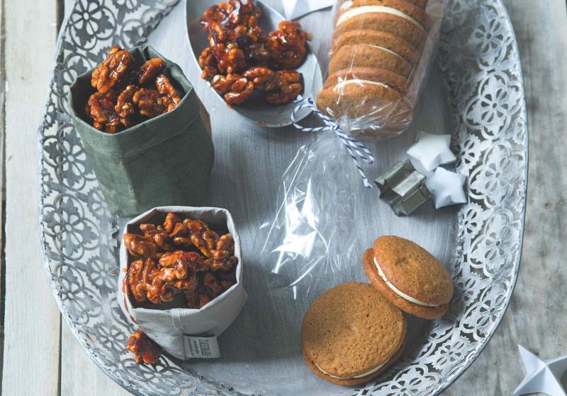 Bezlepkové zázvorové sušenky s citronovým mascarpone