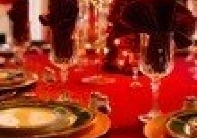 Vánoční menu v restauraci Triton