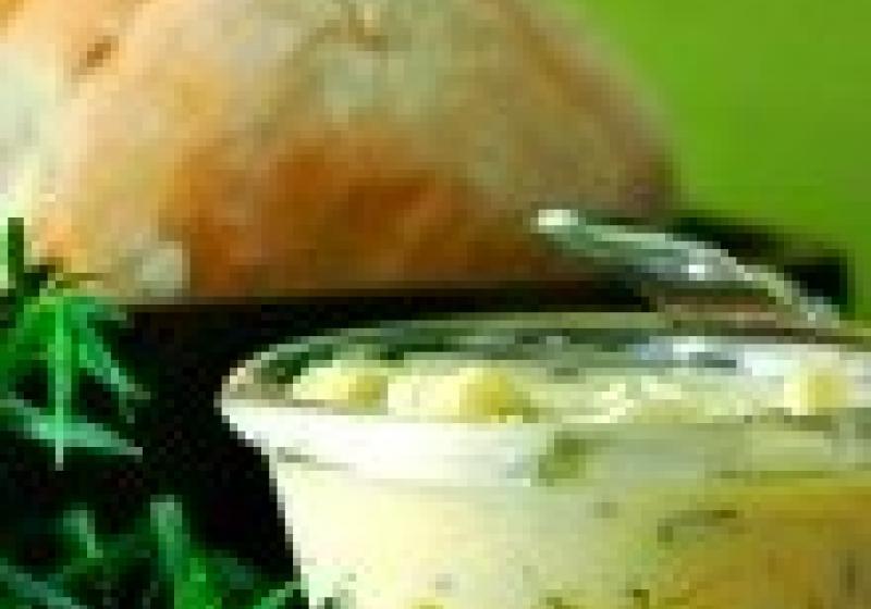 Domácí bylinkové máslo