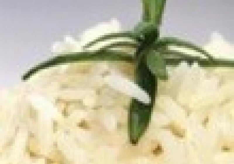 Sypká a krásně bílá rýže
