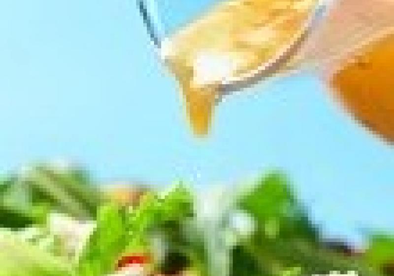 Příliš sladká salátová zálivka