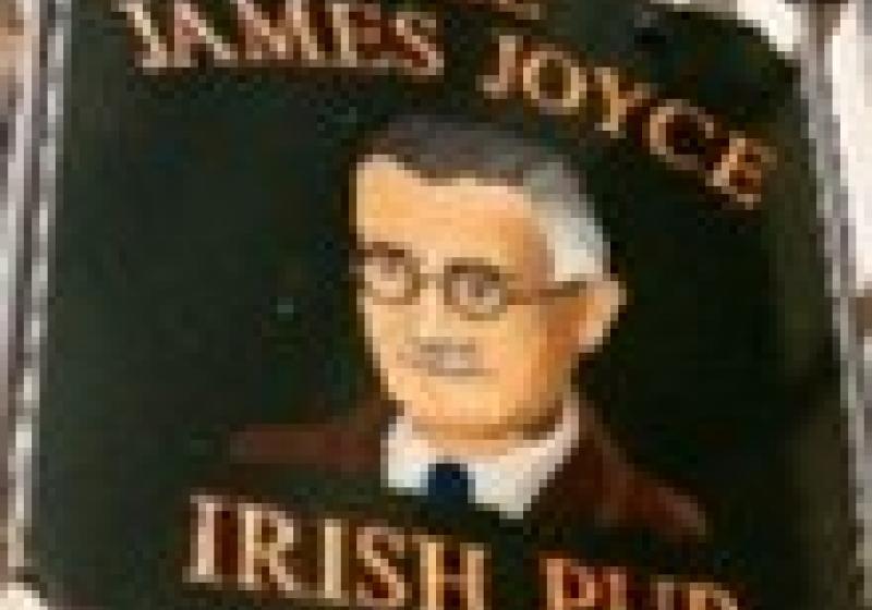 Irská hospoda James Joyce znovu otevřena