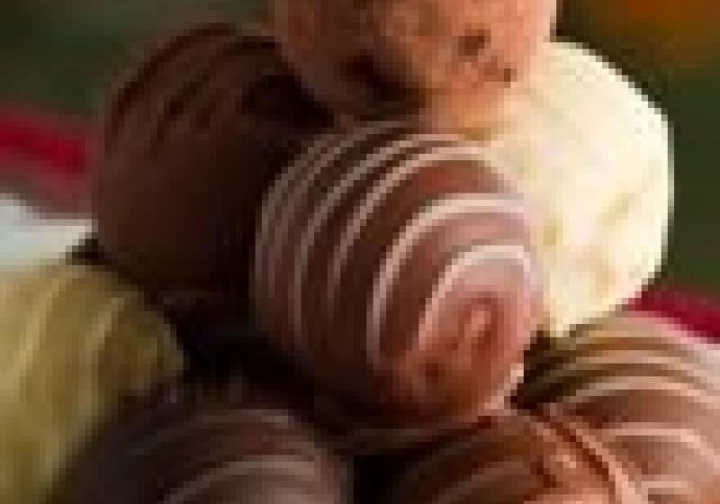 Vytvořte si vlastní čokoládové pralinky