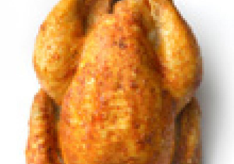 Na kuře s nůžkami