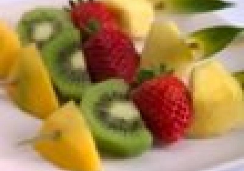 Grilované ovoce