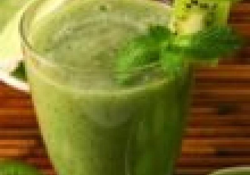 Zelené koktejly v Ráji chutí