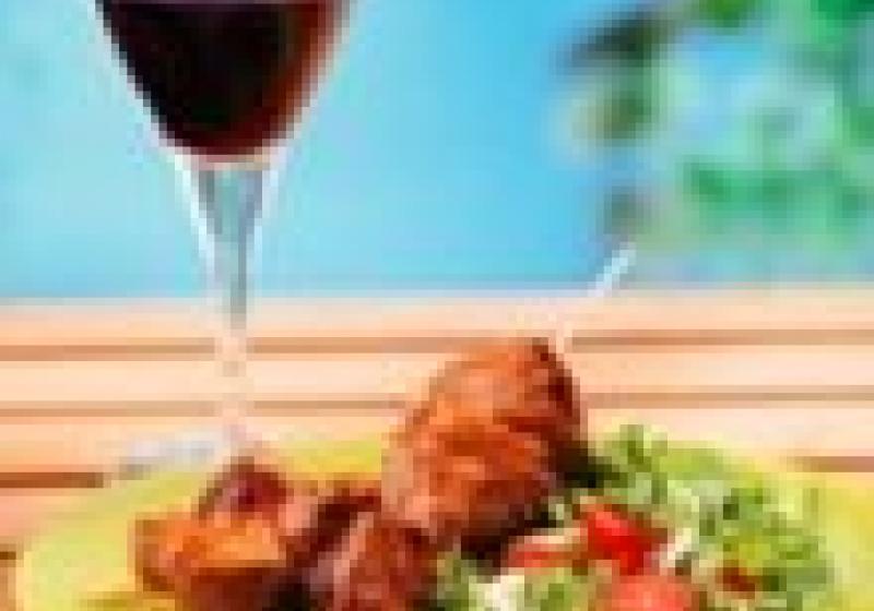 Víno a gril