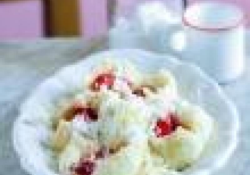 3x jahodové knedlíky