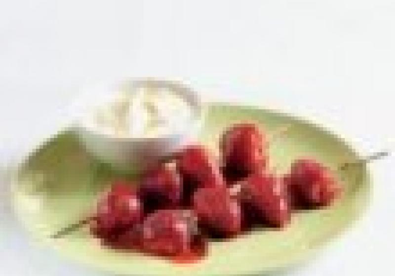 3x šťavnaté špízy s ovocem