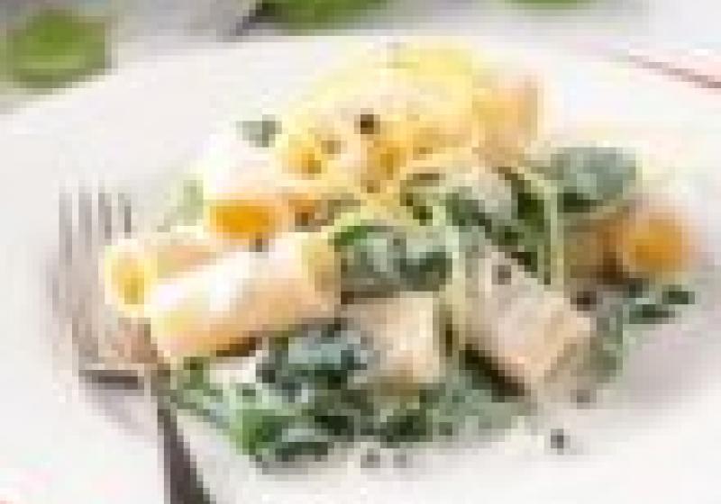 3× těstoviny s ricottou
