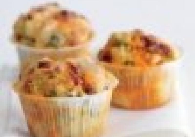 Slané muffiny na cesty