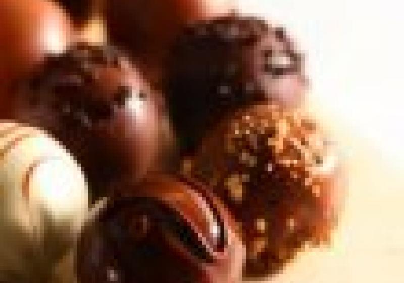 Naučte se domácí čokoládové pralinky