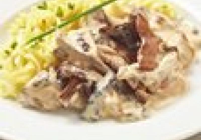 Vepřové maso vhoubové omáčce