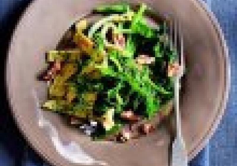 5 večeří: teplé zimní saláty
