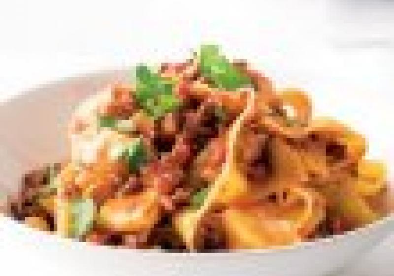 5 večeří: zimní těstoviny s uzeninou