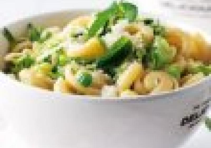 5 rychlých večeří: těstoviny nazeleno