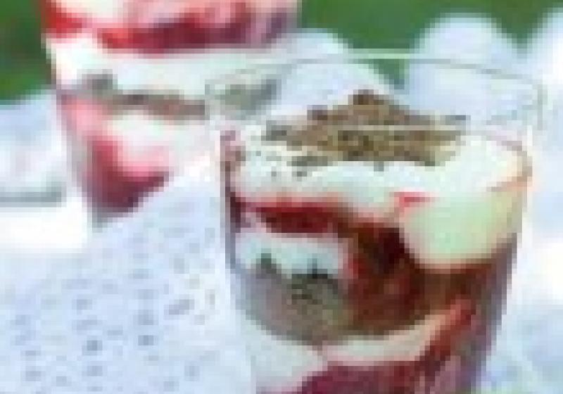 Dezert na neděli: ovocný pohár