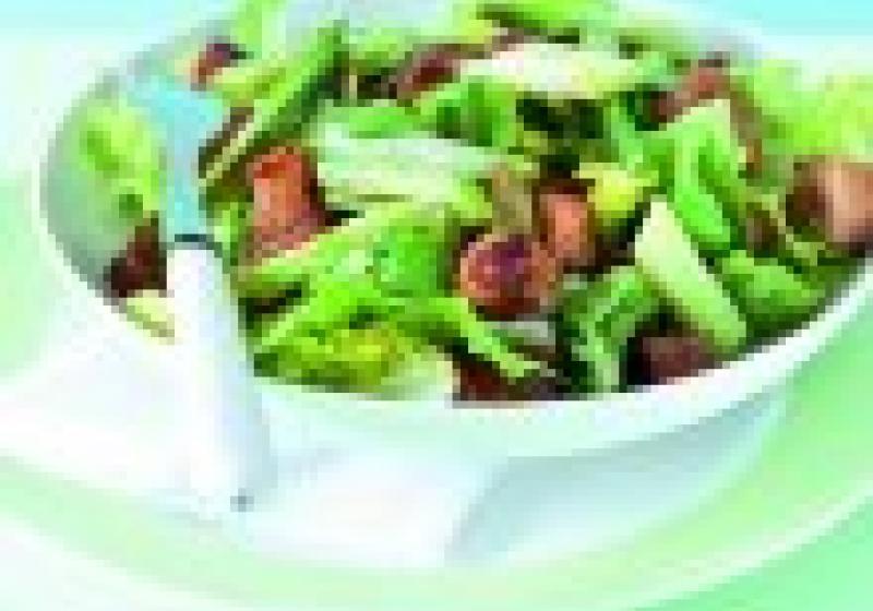 5 večeří: jarní zelenina