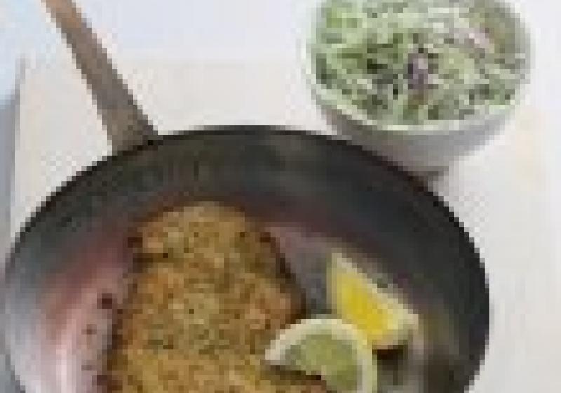 Klasika k obědu: telecí řízek