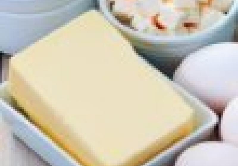 Na nákupu: máslo