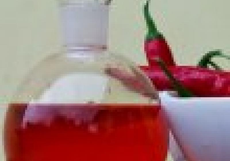 Rychlý chilli olej