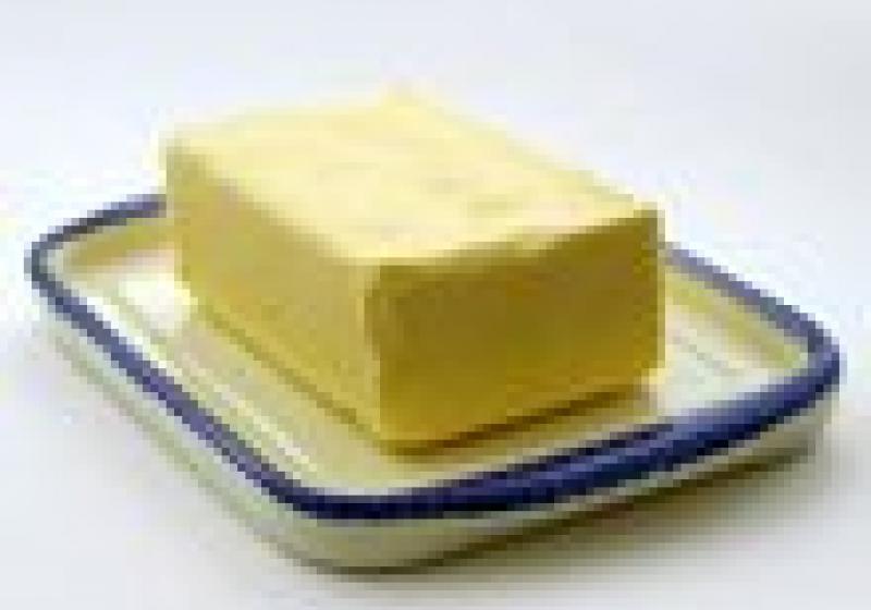 Jak vypadá změklé máslo